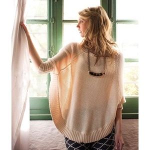 Anthropologie Sweeping Stitches Oversize Sweater